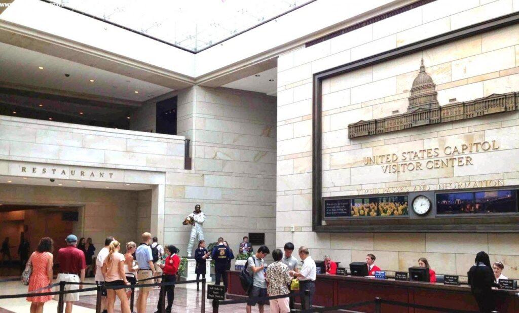 capitol visitor hill, visitare capitol hill washington