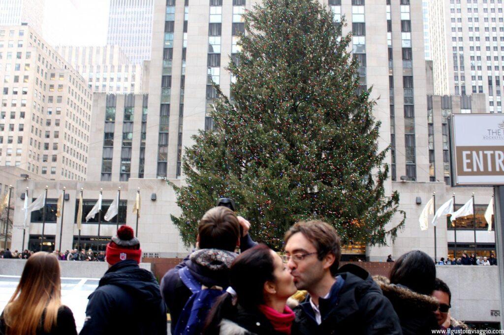 5 posti instagrammabili a new york, albero di natale del rockefeller center, natale a new york