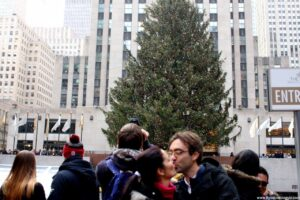 albero di natale del rockefeller center, natale a new york