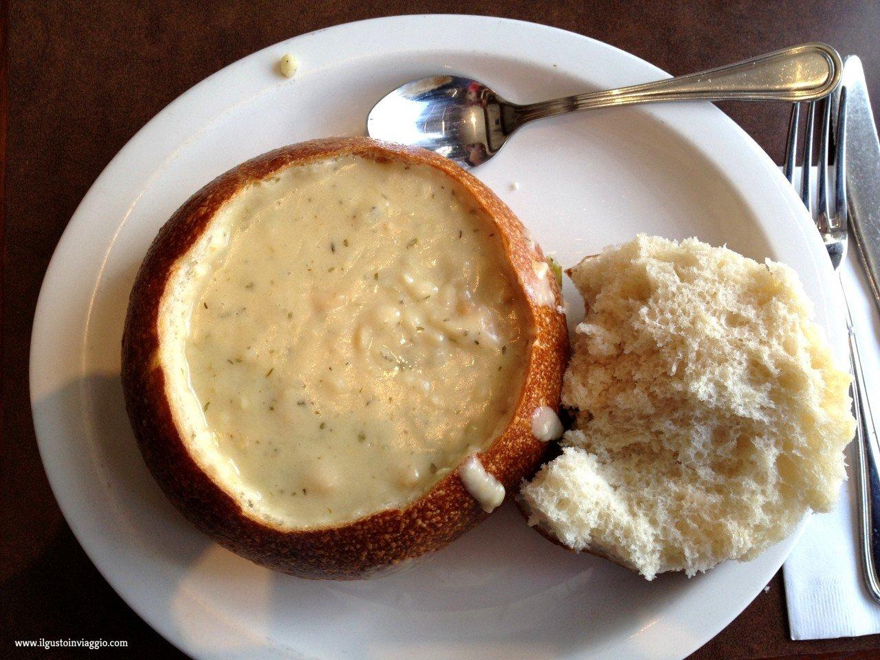 migliore clam chowder di san francisco