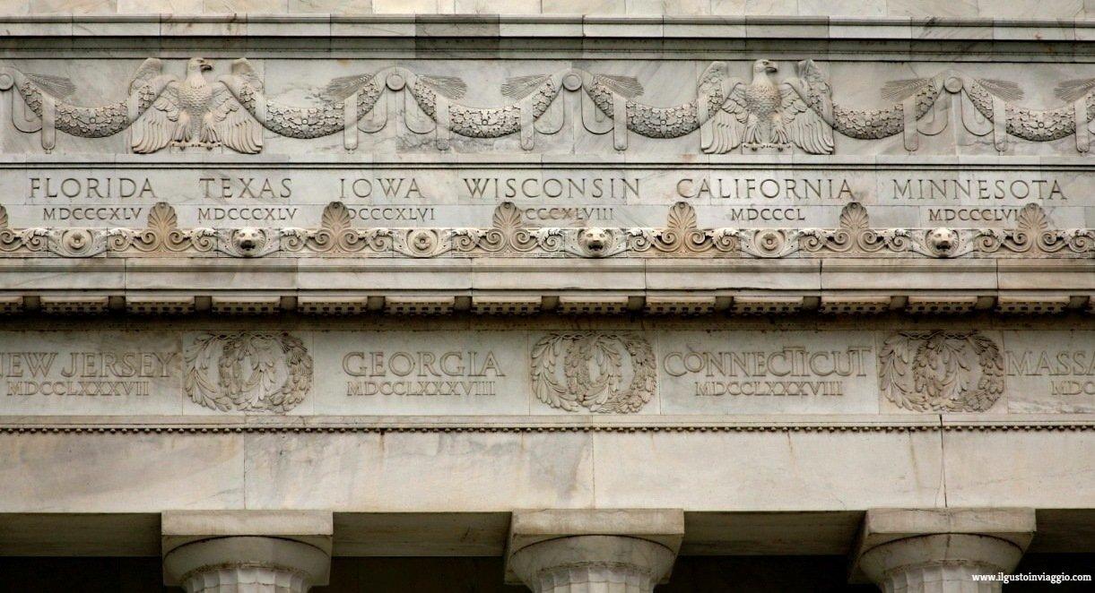 lincoln memorial di washington dc, lincoln memorial, cosa vedere a washington dc