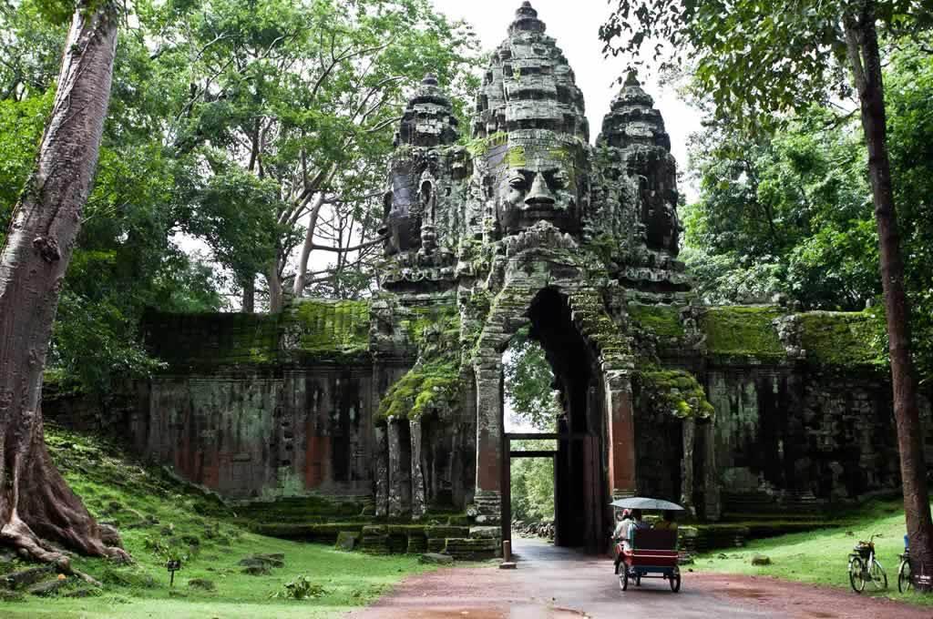 viaggio in cambogia con bambini, angkor thom, cambogia templi