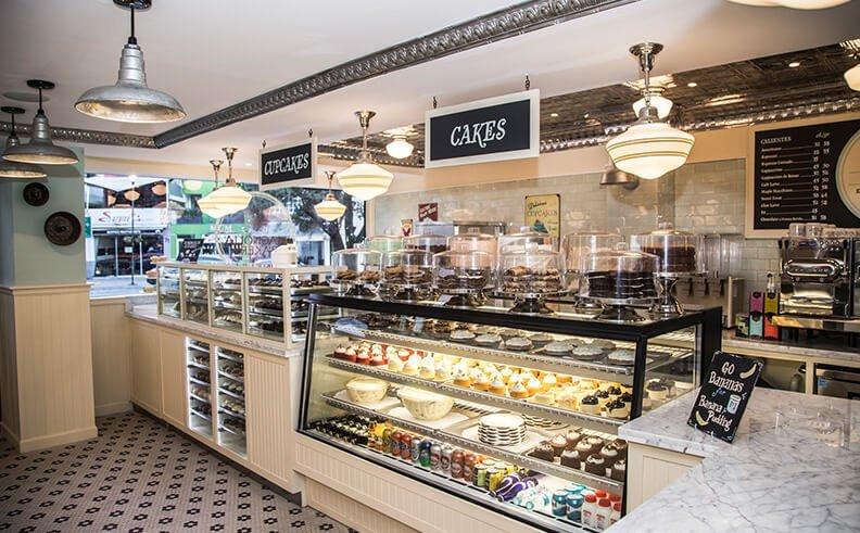 cupcake di magnolia bakery, new york magnolia bakery, sex and the city,