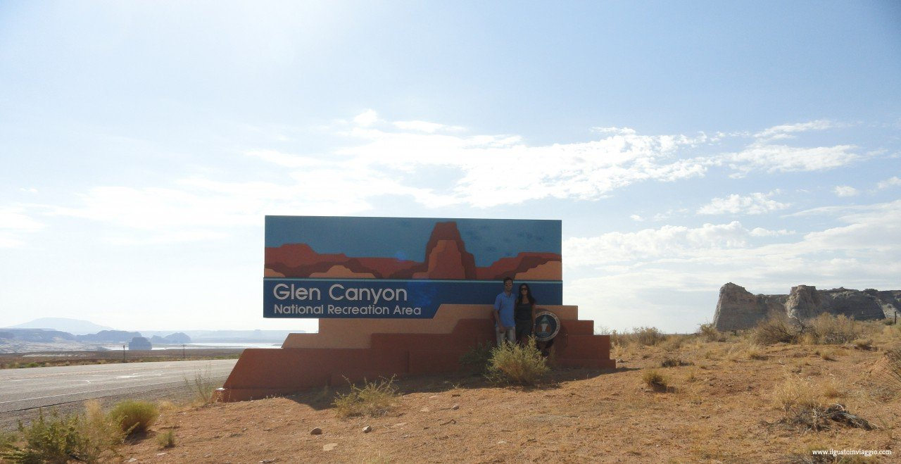 glen canyon national recreation, glen canyon dam, diga del glen canyon arizona