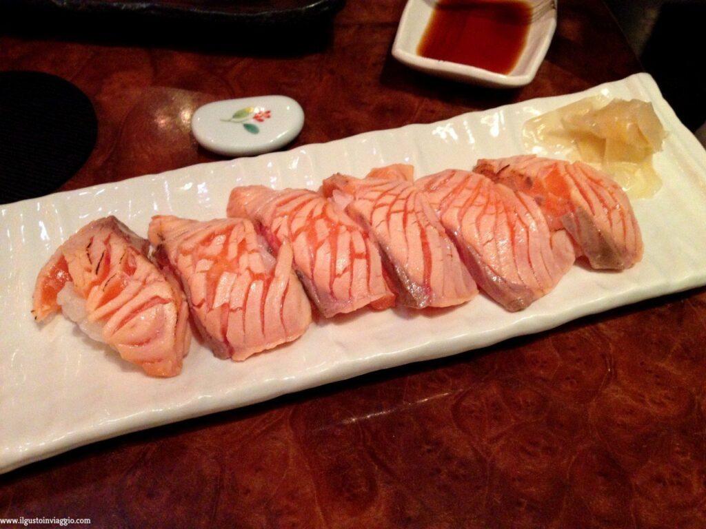 cosa abbiamo mangiato in giappone, sushi