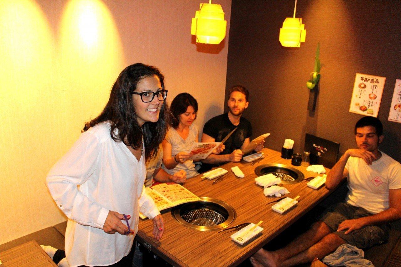 yakiniku japan, cosa mangiare in giappone