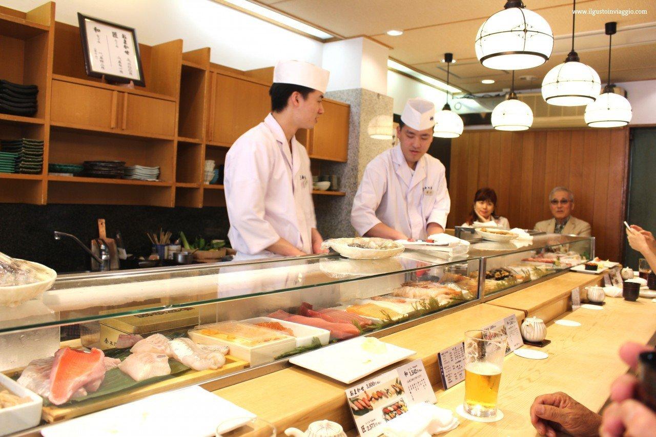 cuochi sushi, sushi made, cosa mangiare in giappone
