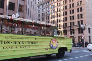 duck tours boston con i bambini