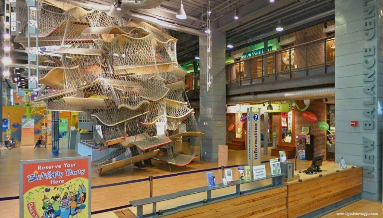 boston con i bambini, boston childrens museum