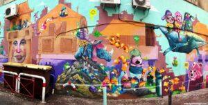 street art marsiglia, due giorni a marsiglia