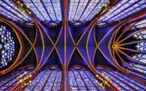visita alla sainte chapelle paris, parigi saint chapelle