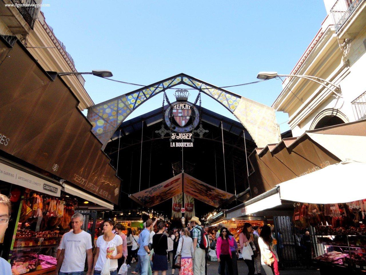 la boqueria il mercato di barcellona