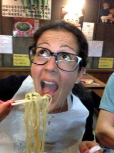 mangiare ramen a kyoto, ramen di fuoco