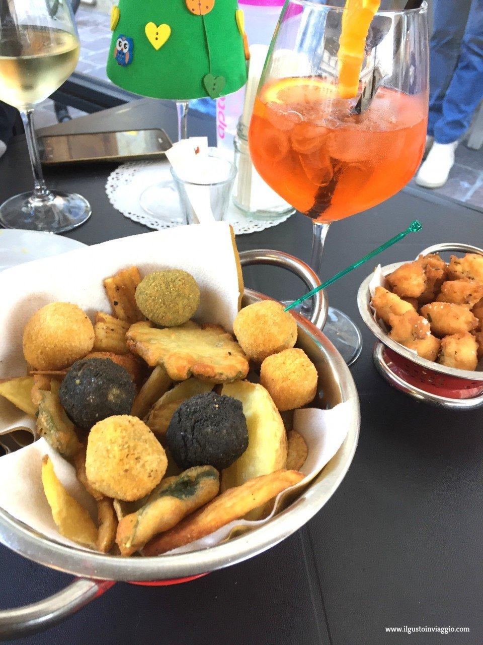 dove fare aperitivo ad ascoli piceno, olive ascolana, fritto misto, siamo fritti
