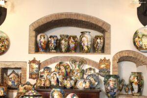 buongiorno ceramica, ascoli piceno, ascoli piceno ceramica, vasi ceramica, porcellana religiosa