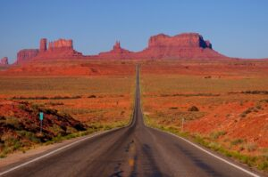 visita monument valley in auto