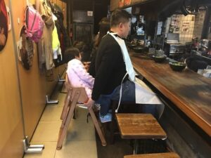 mangiare ramen a kyoto, ramen di fuoco, negi ramen