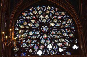 visitare la sainte chapelle di parigi, parigi sainte chapelle