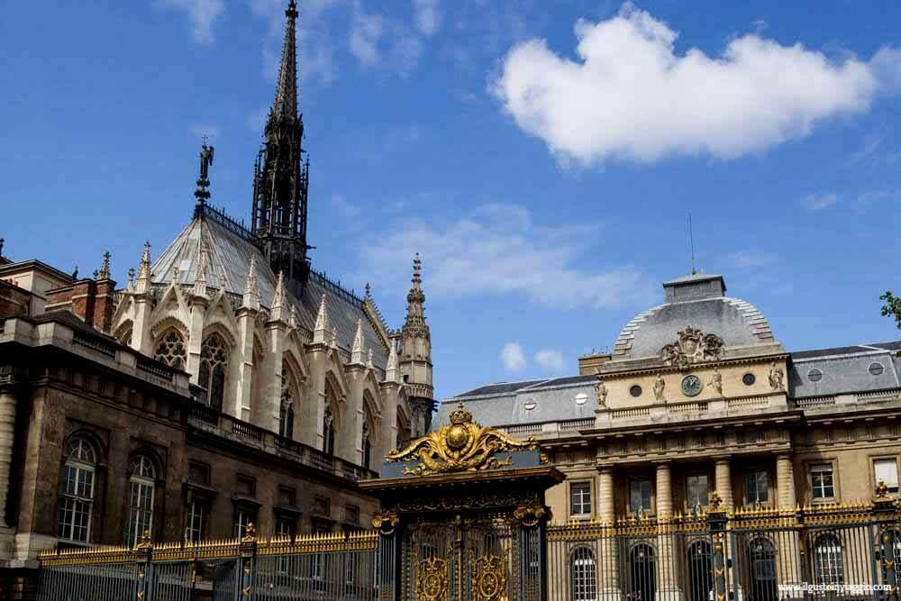 visitare la sainte chapelle,sainte chapelle di parigi