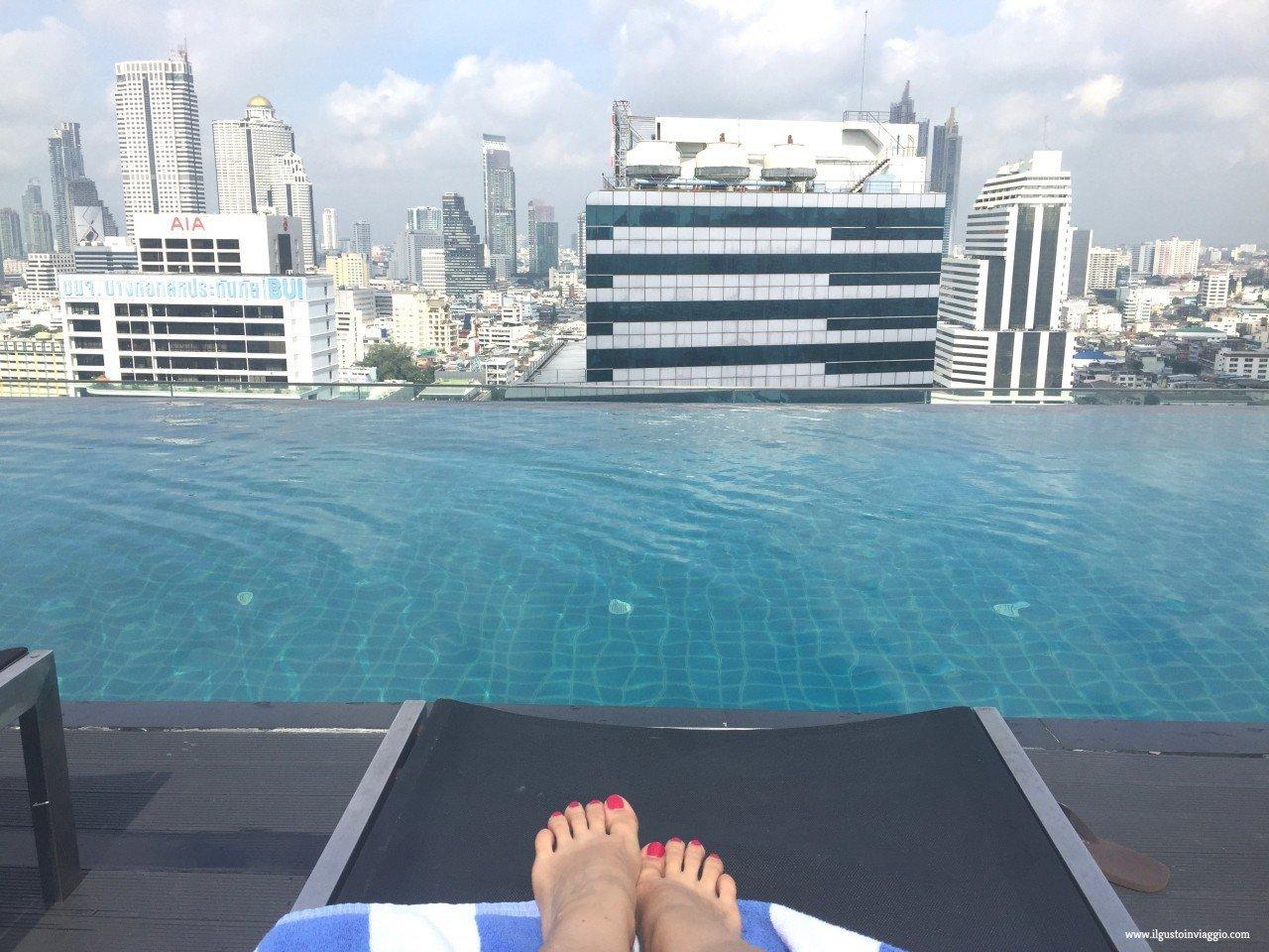pool, amara bangkok, dormire a bangkok con i bambini