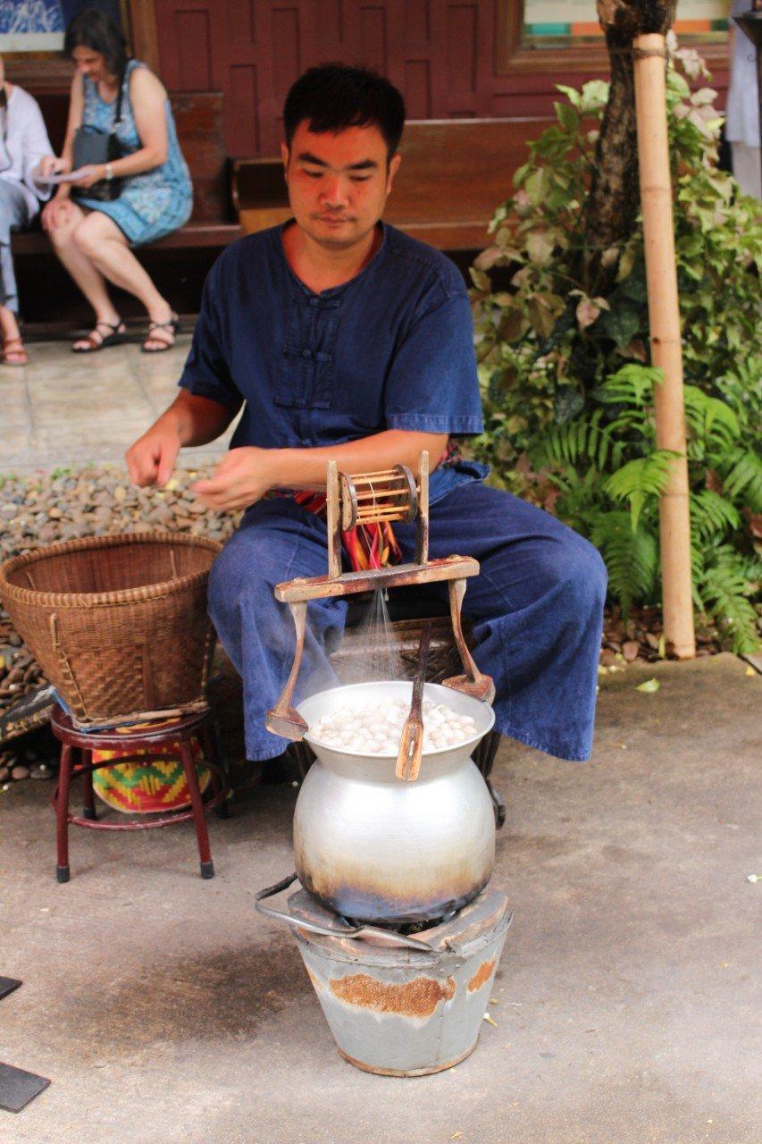 filatore di seta, casa di jim thompson bangkok