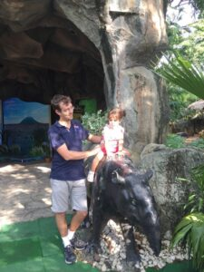 zoo, bangkok con i bambini, dusit zoo