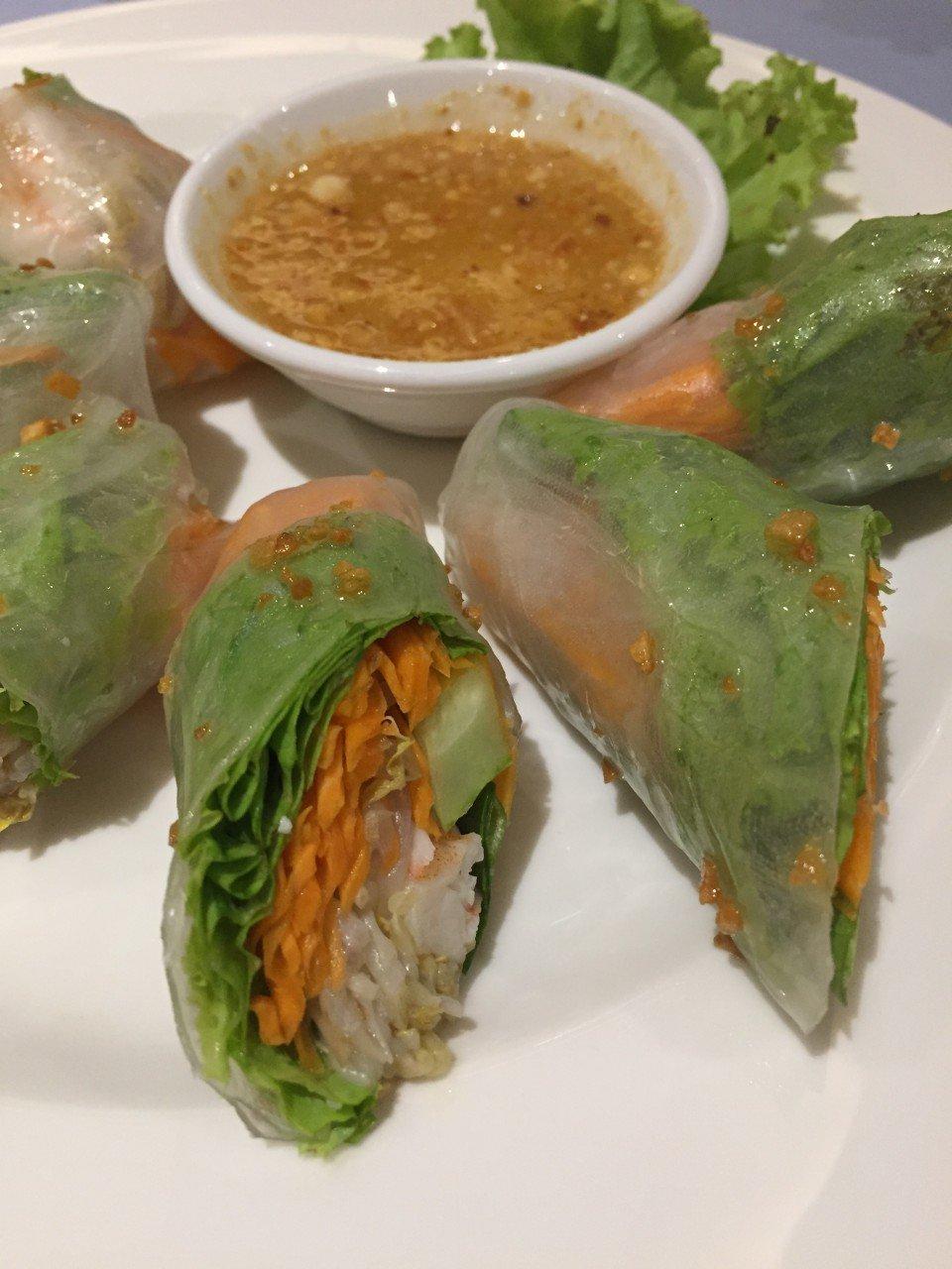 quanto costa un viaggio in cambogia con i bambini, springs rolls, spring roll