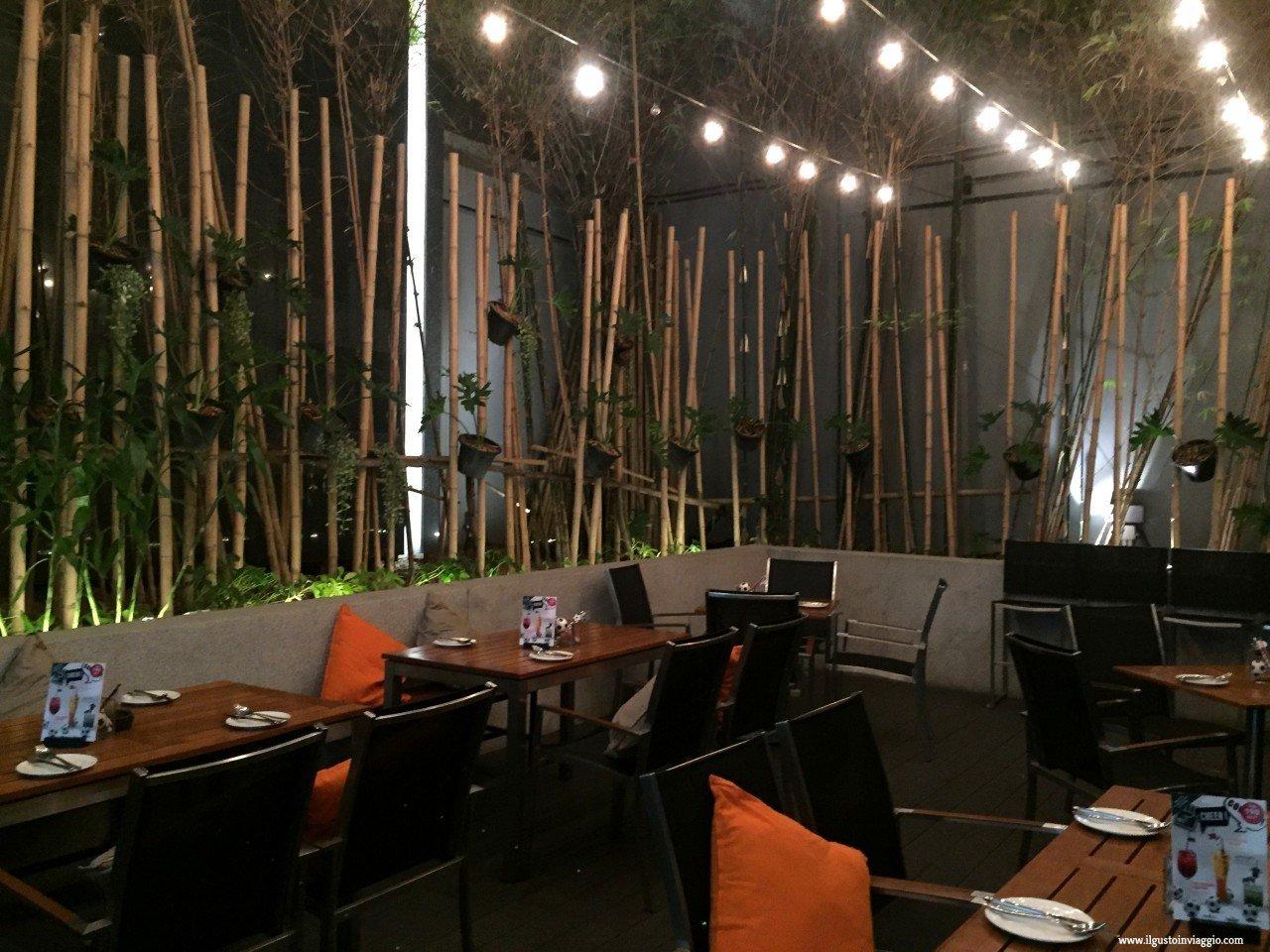 element restaurant amara bangkok, dove dormire a bangkok con i bambini
