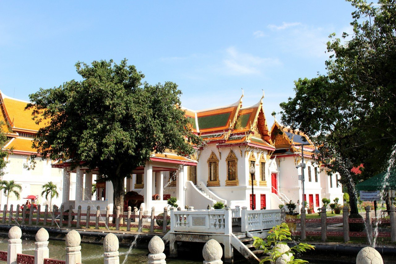 Wat Benchamabophit il tempio di marmo di bangkok