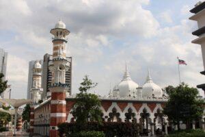 due giorni a kuala lumpur, piazza merdeka kuala lumpur moschea