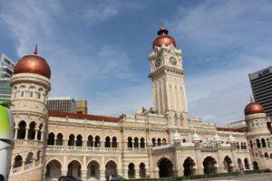 due giorni a kuala lumpur, piazza merdeka kuala lumpur, palazzo sultano abdul kuala lumpur