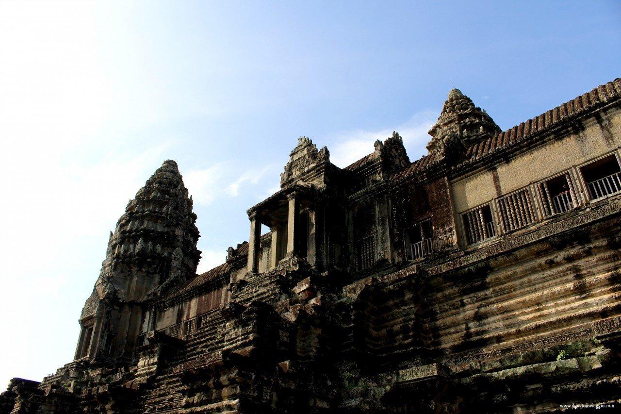 angkor wat ed il piccolo circuito, cambodia angkor wat