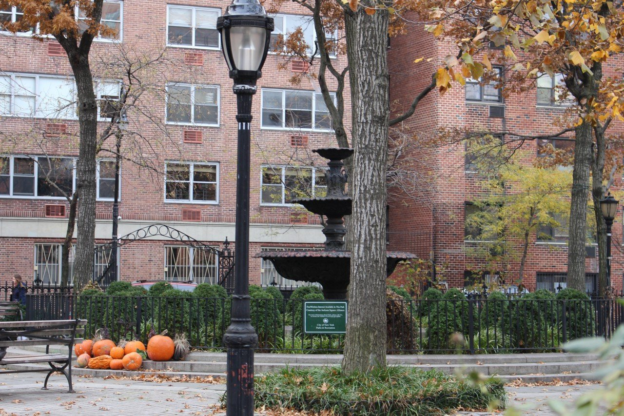 halloween a new york, bryant park new york hallowen