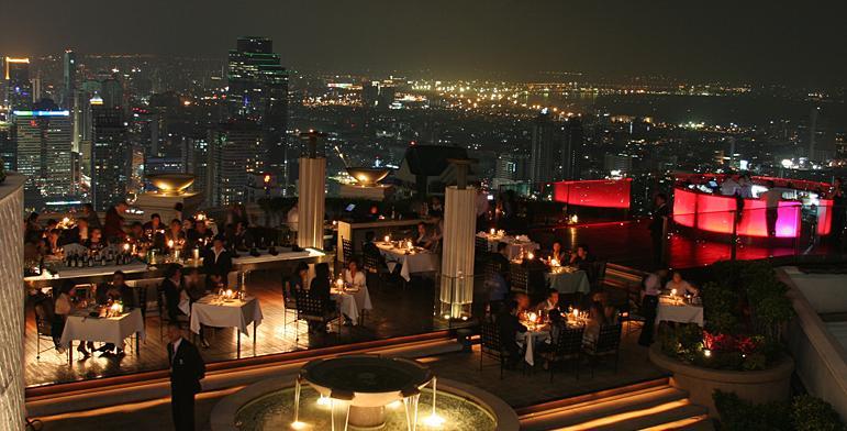 lebua state tower, bangkok skyline, posti instagrammabili di bangkok