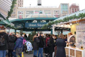 mercatini di natale di new york, union square mercatini natale