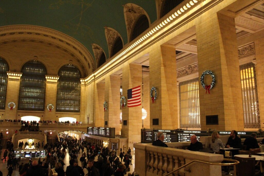 Grand central station, mercatini di natale di new york