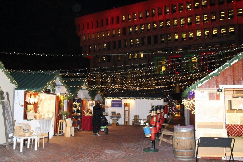 mercatini di natale di boston, boston christmas