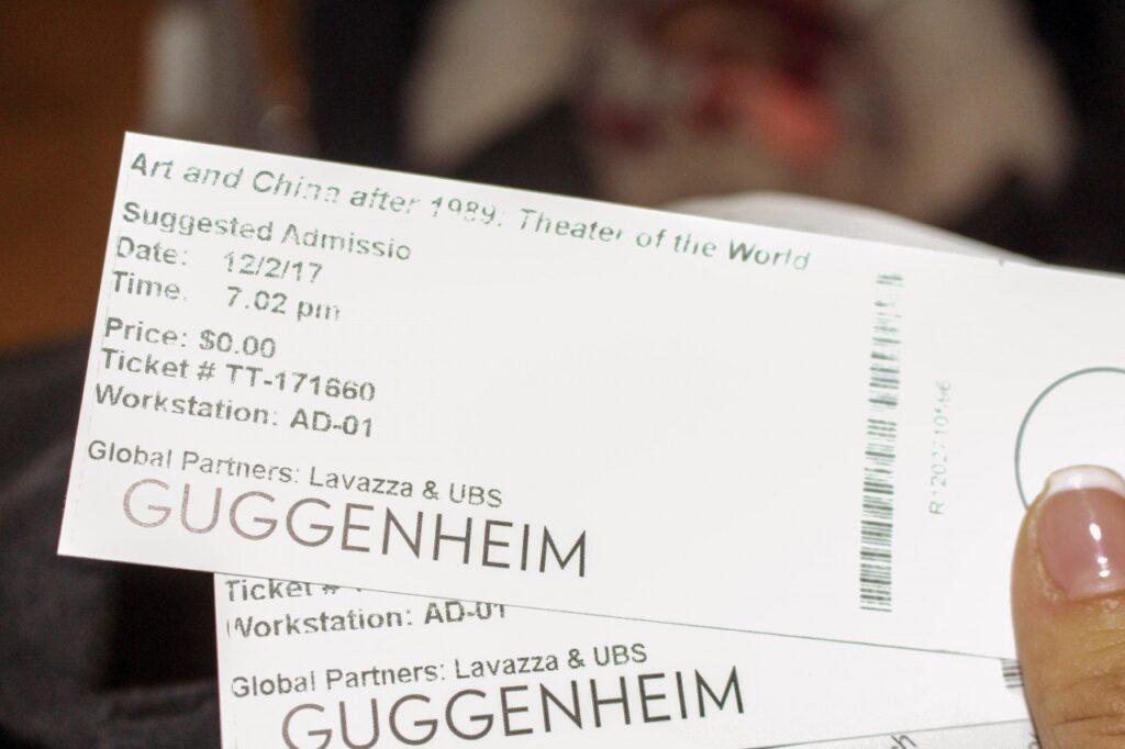 biglietti guggenheim, guggenheim di new york con i bambini