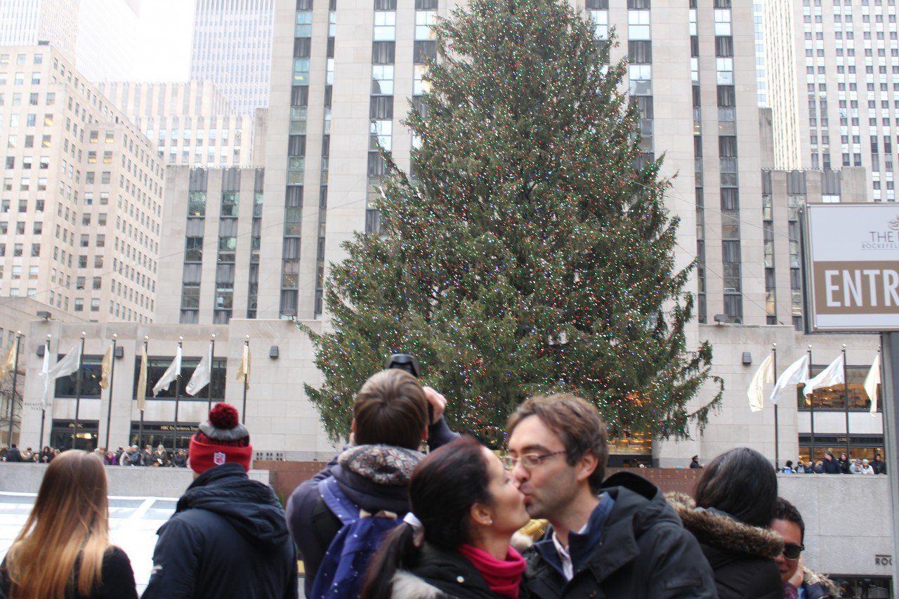 albero rockefeller center natale 2019, natale a new york, quanto costa un viaggio a New York a natale