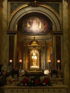 roma dal cielo, skyteam blogger, basilica santa maria aracoeli bambinello,