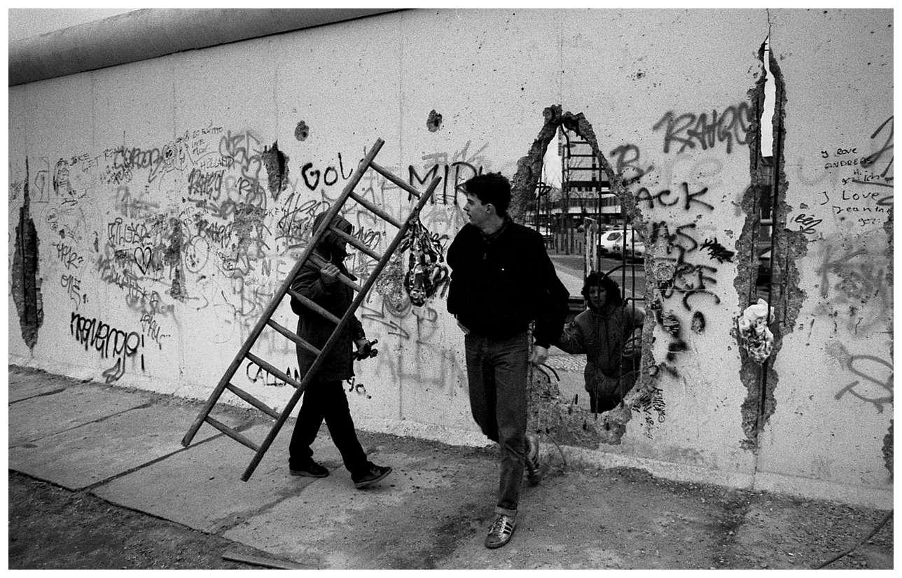 visitare il muro di berlino con i bambini