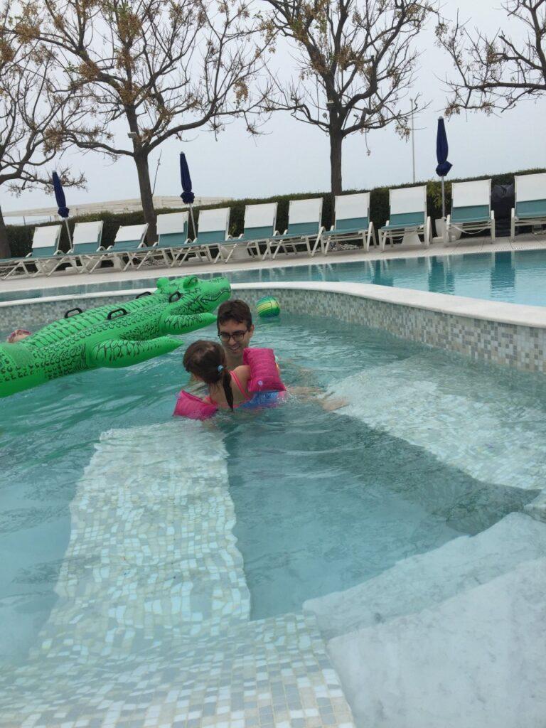 dormire a igea marina con i bambini