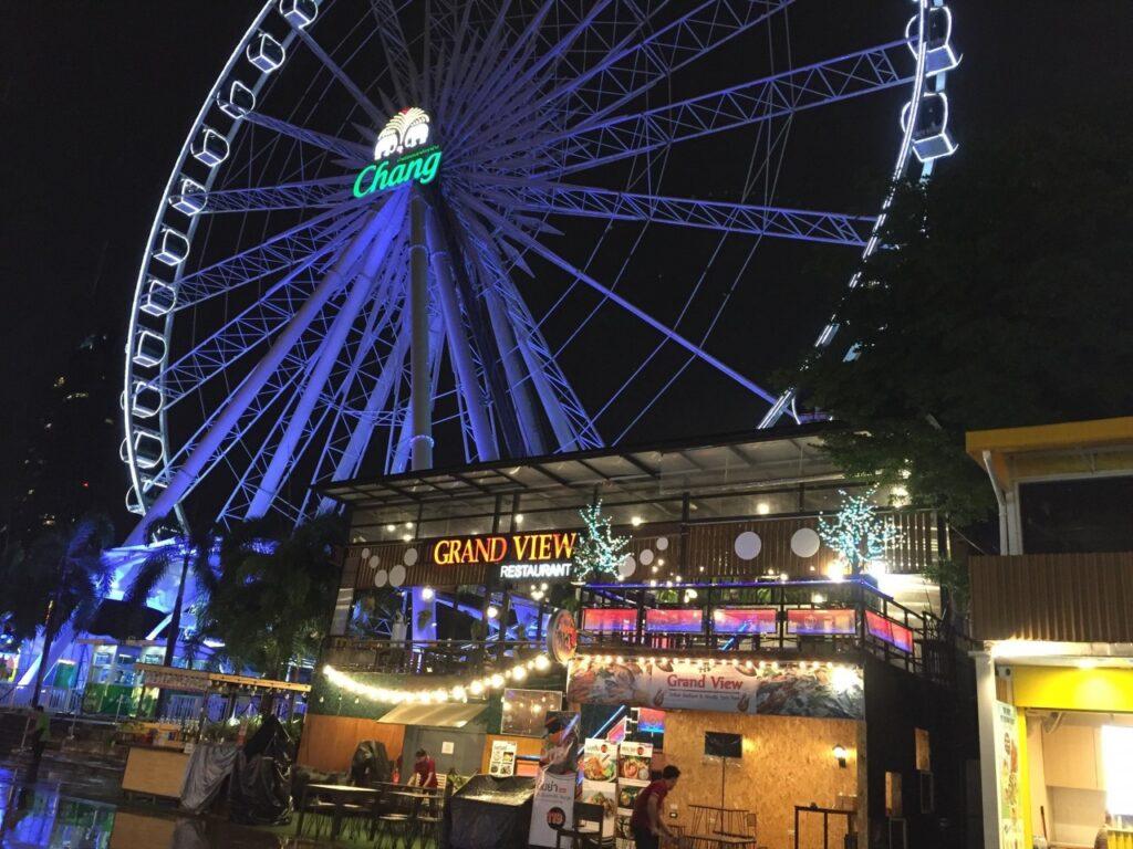 ruota panoramica a bangkok