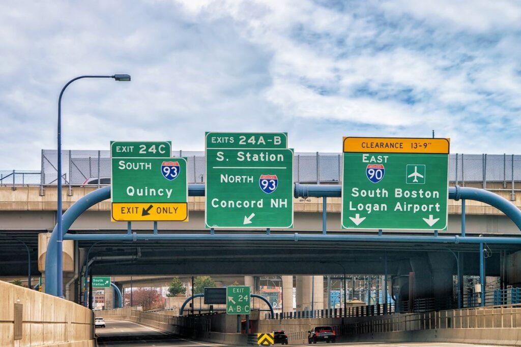raggiungere l aeroporto di boston dal centro città