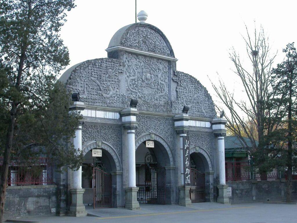 zoo di pechino con i bambini
