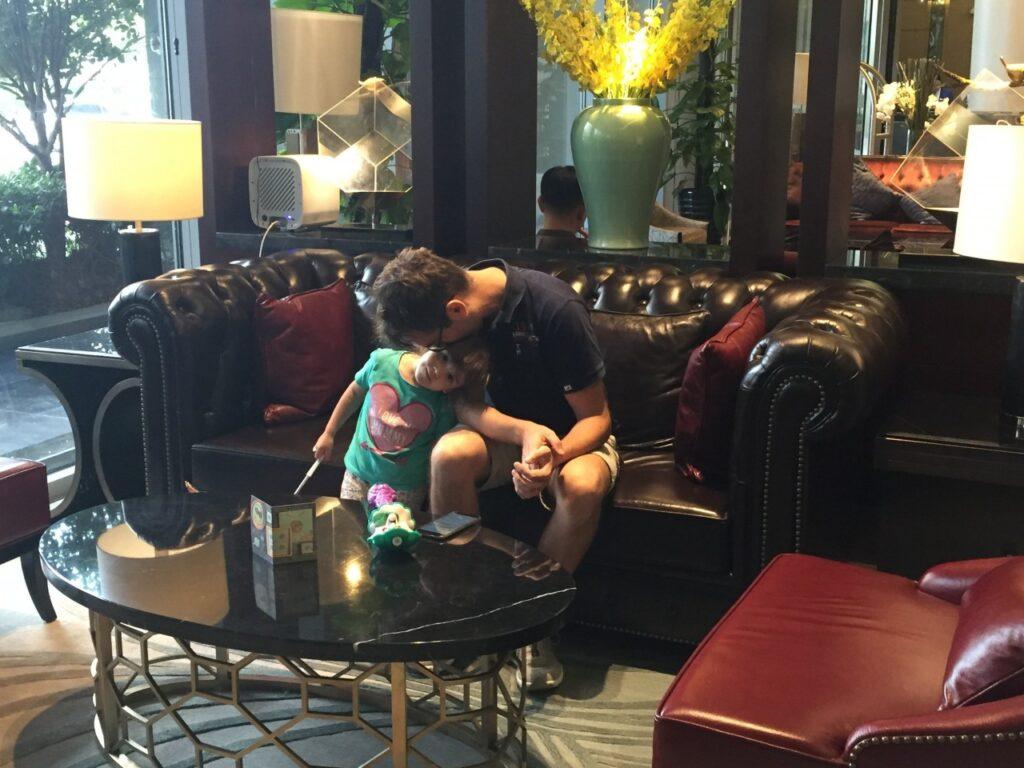 dormire a suzhou con i bambini