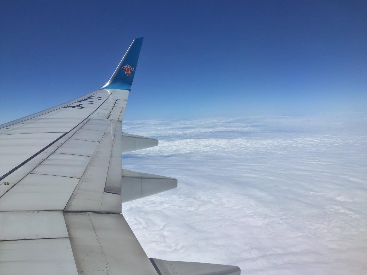 volare china southern con bambini