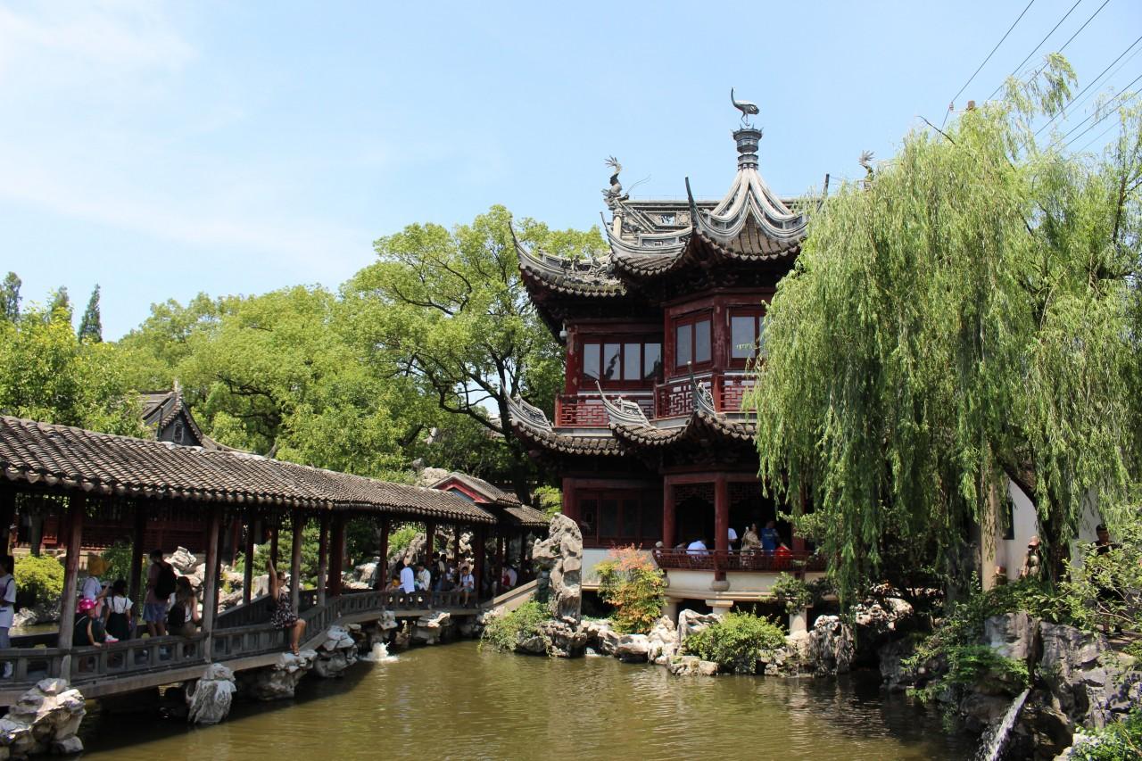 Visitare a Shanghai lo Yu Garden con i bambini