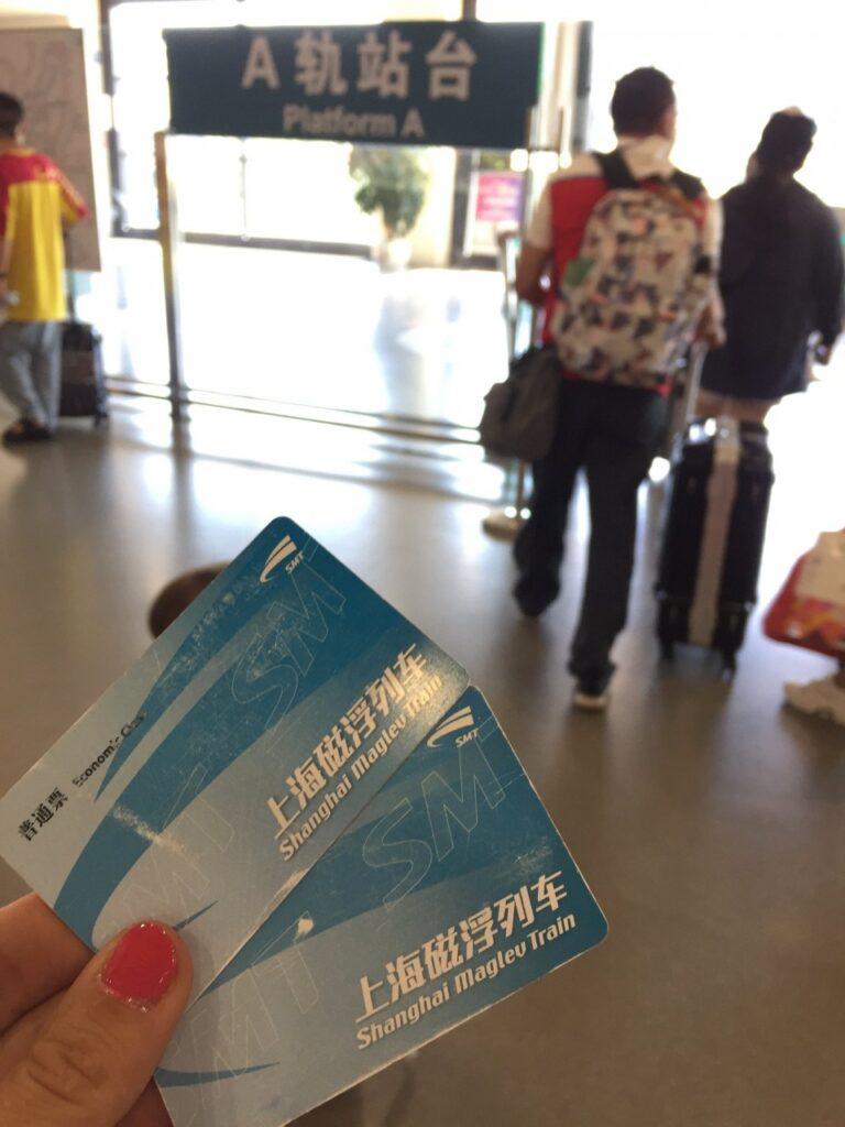 come raggiungere shanghai dall'aeroporto