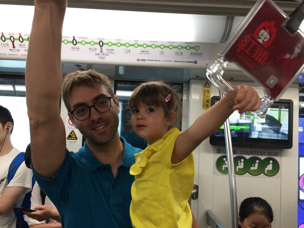 viaggiare in metro in cina